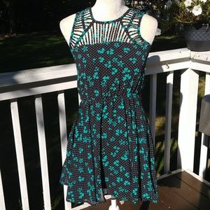 Candies Polka Dot and Bow Dress Sz XS
